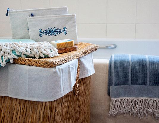foutas accessoires salle de bain