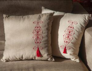 mettez en valeur votre linge de maison avec des coussins originaux