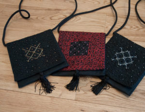 pochettes de soirée pour un cadeau artisanal à la saint valentin