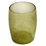 gobelet verre souffle miel clair 01