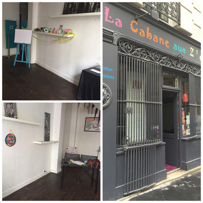 boutique parisienne comptoir azur etape 1 la reprise de la Cabane aux enfants