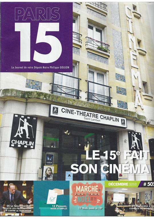Paris 15 Décembre 2016 Numéro 502