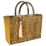 idee cadeau artisanal sac a main femme cuivre jonc