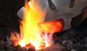 étamage cuivre martelé dinanderie