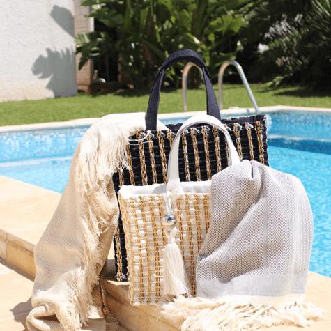 fouta tunisienne culture mediterraneenne plage piscine