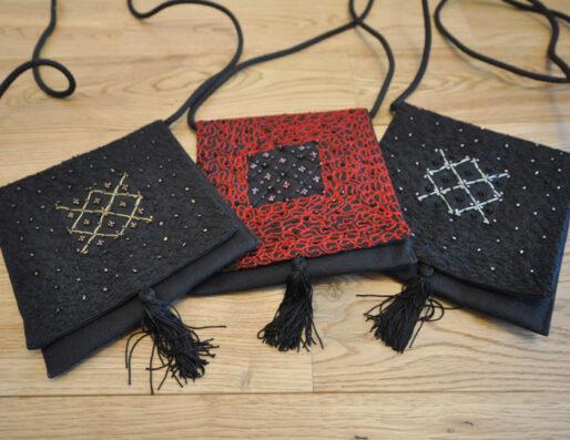 Pochettes et sacs artisanaux