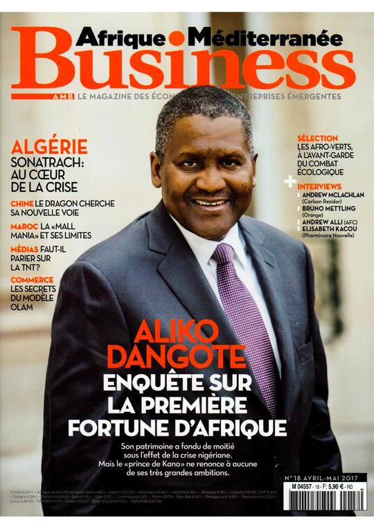 pouf tresse Afrique Méditerranée Business