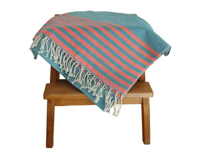 fouta-tunisienne-bleue-rayee-orange-2