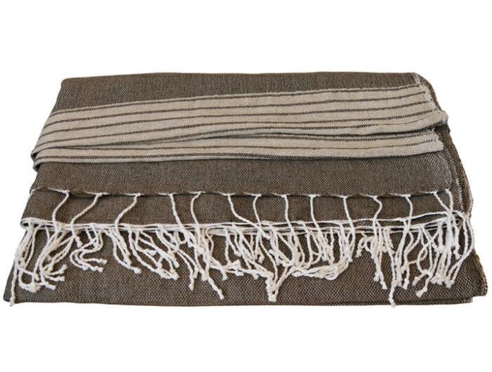jeté de lit en coton