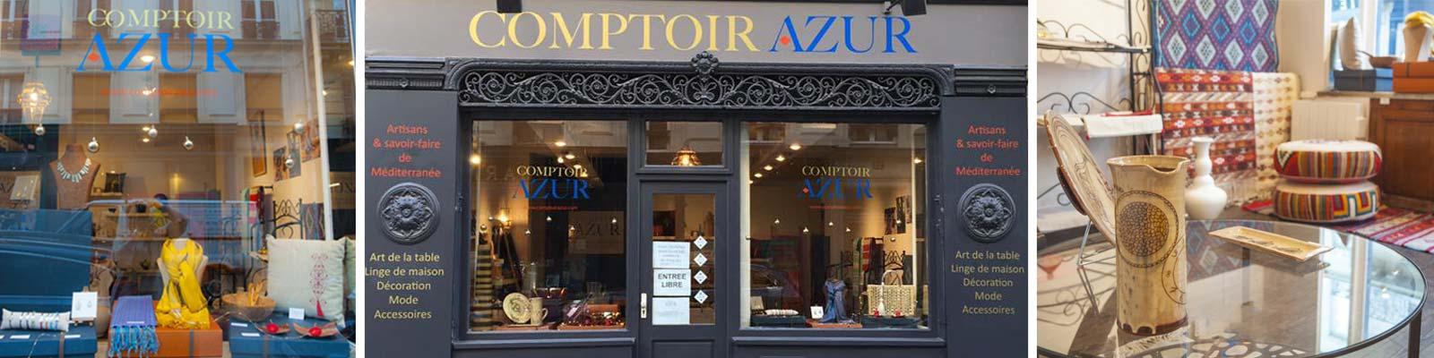 Comptoir Azur - Boutique cadeau artisanal Paris