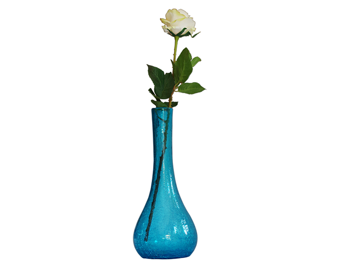 carafe en verre souffl bleu turquoise produit artisanal. Black Bedroom Furniture Sets. Home Design Ideas