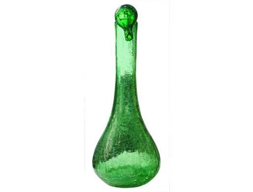 carafe verre souffle vert