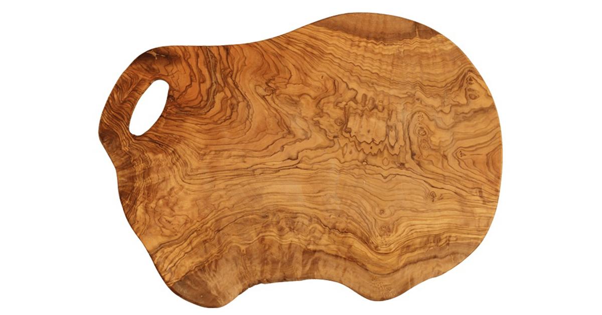 Grande planche a decouper en bois d 39 olivier un bel objet for Planche en bois cuisine