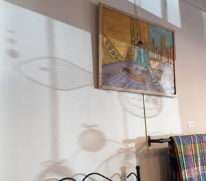 vitrine noel rayon lumiere