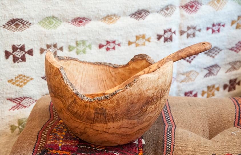 cadeau artisanal bois olivier