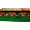 boite de rangement decorative bois peint main profil
