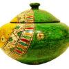 bonbonnière en céramique peinte à la main