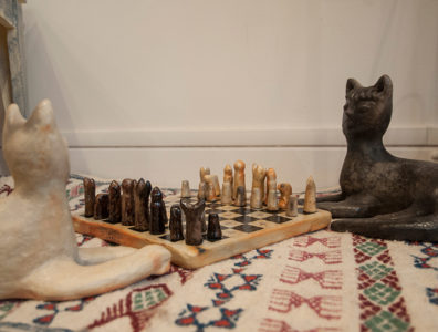 echiquier poterie sejnane