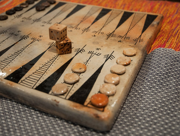jeu backgammon poterie sejnane 4