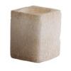 photophore blanc cristal sel petit profil