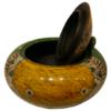 bonbonnière en céramique en terre cuite