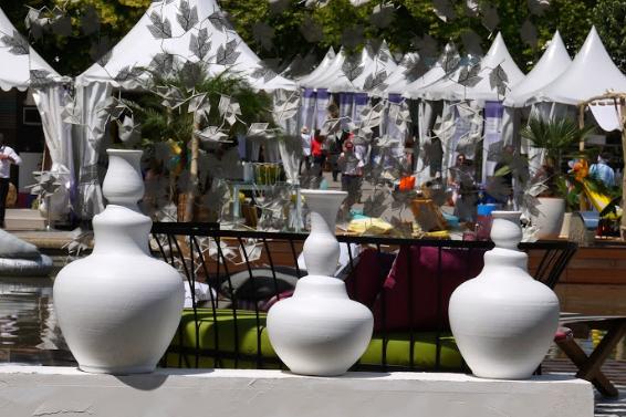 cadeau artisanal fetes peres gand vase blanc