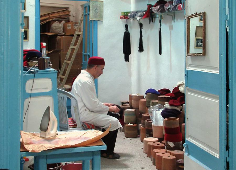 chechia fabrication par les maîtres artisans