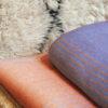 jeté de canapé artisanal et tissage