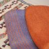 jeté en lin pour canapé de canapé tissage artisanal