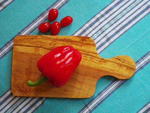 petite planche a decouper en bois olivier cuisine