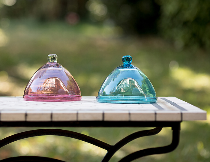 Cloches en verre soufflé