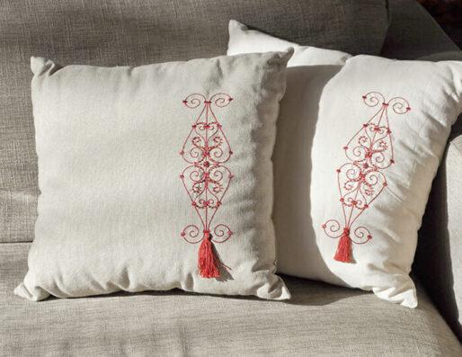 Coussins décoratifs artisanaux