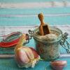 cuillère à sel en bois